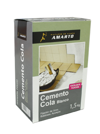 Cemento Cola Blanco  1