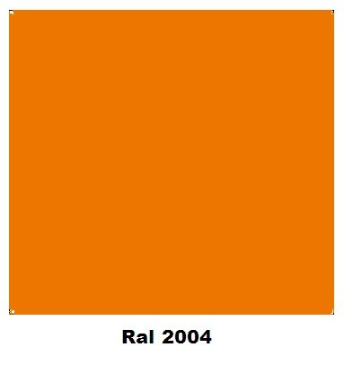 Spray Colores RAL 2004 Naranja  400 ml