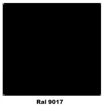 Spray Colores RAL  9017 Negro Brillo  400 ml