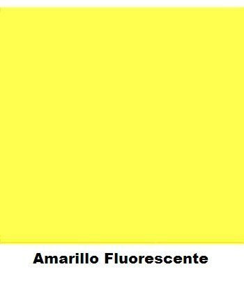 Spray Colores Amarillo Fluorescente  400 ml