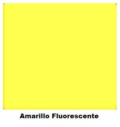 Spray Colores Amarillo Fluorescente  400 ml