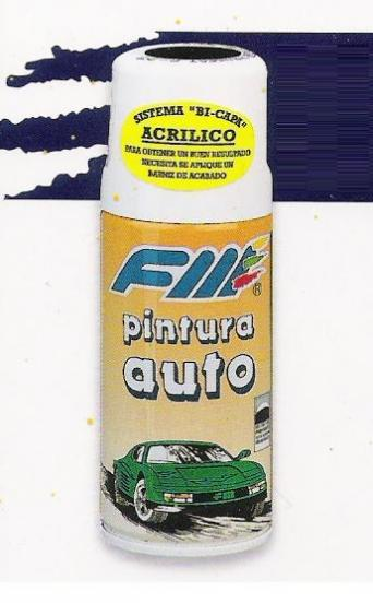 Spray Pintura especial COCHES