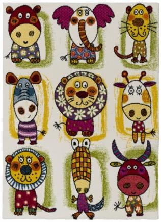 Alfombra Infantil Toys 21065_Multicolor