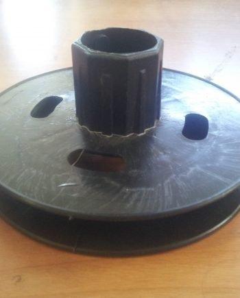 Disco Plástico de 13 eje de 42 c.ancha con espiga