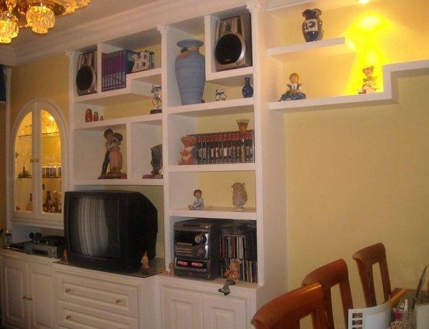 Muebles De Escayola Modernos Perfect Muebles Y Estanteras De Pladur - Mueble-escayola