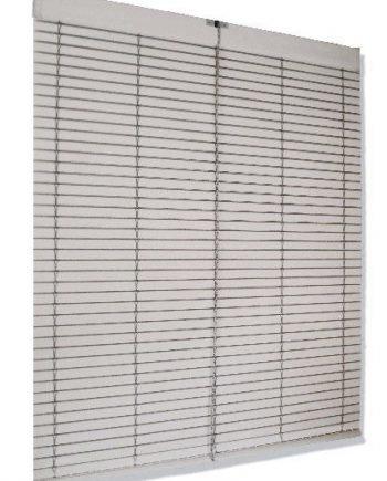 Persiana Cadenilla PVC Blanca - Medida: 1