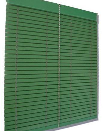 Persiana Cadenilla PVC Verde - Medida: 1