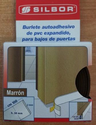 Burlete PVC Puertas