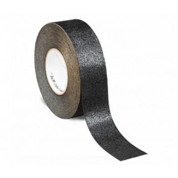 Cinta antideslizante negra adhesiva 25 mm
