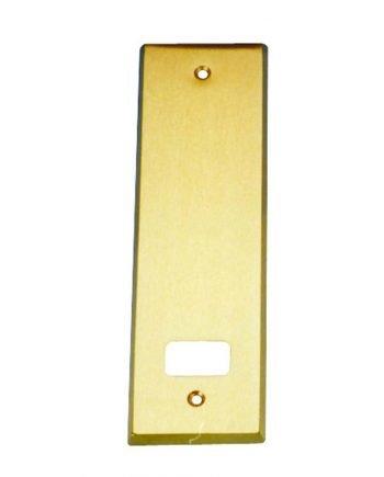 Placa Metálica Aluminio 1 mm Dorado