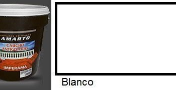 Caucho Antigoteras Blanco  15 L