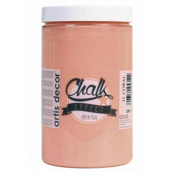 Pintura Tiza 450 ml Coral