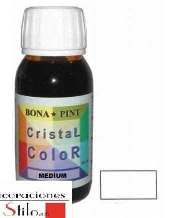 Medium para pintura laca de Cristal Color