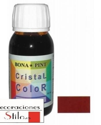 Cristal Color Bonapint? Rojo Carmín