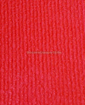Moqueta Canutillo Rojo Bermellón