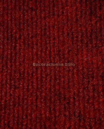 Moqueta Canutillo Rojo Grana