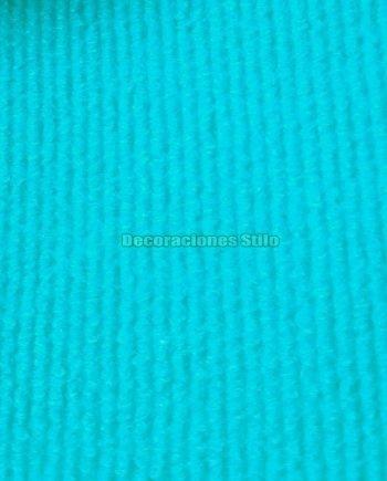Moqueta Canutillo Azul Turquesa