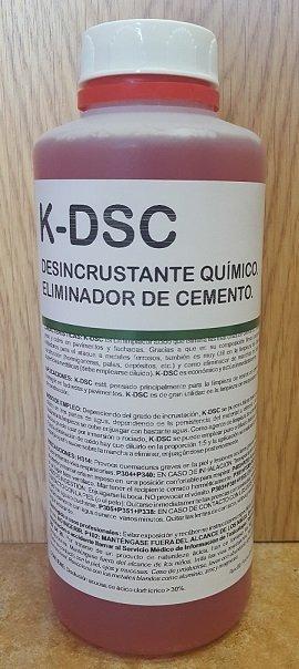 Eliminador de cemento