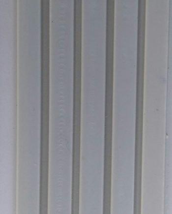 Perfil Antideslizante para escalones Blanco