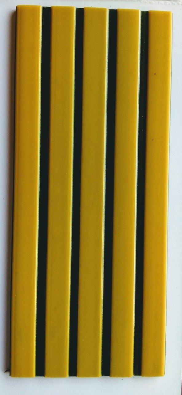 Perfil Antideslizante para escalones Amarillo y Negro