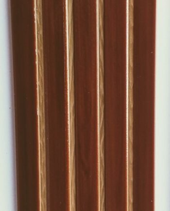 Perfil Antideslizante para escalones Marrón Oscuro