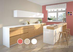 Pintura ecológica en cocina