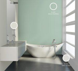 Pintura ecológica en baño