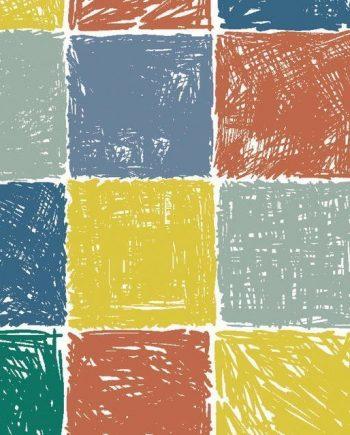 5331205 - Sintasol - Suelo Vinílico Baldosas Multicolor - Ancho 2 m.