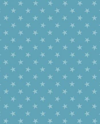 5331235 - Sintasol - Suelo Vinílico Estrellas Azul - Ancho 2 m.