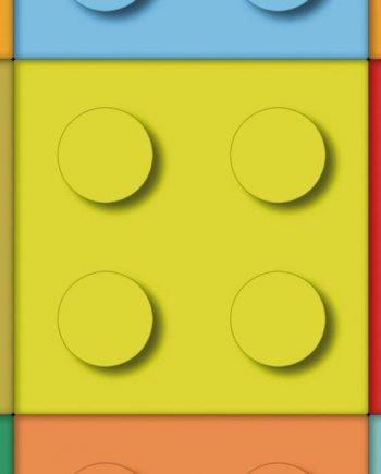 5331227 - Sintasol - Suelo Vinílico Piezas Lego Infantil Multicolor - Ancho 2 m.