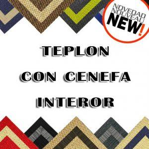 Teplon con cenefa interior - alfombra vinílica