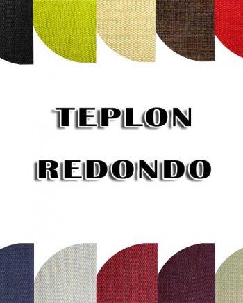 Teplon con forma redonda - alfombra vinílica
