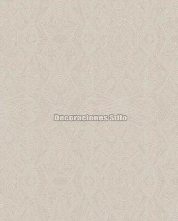DU672C820 - Papel Pintado Vinílico Beige de Geométrico