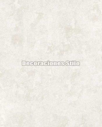 ED651C0 - Papel Pintado Vinílico Beige y Blanco de Flores difuminadas
