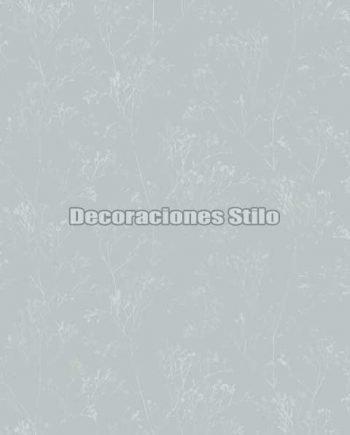 EX674C030 - Papel Pintado Vinílico Verde y  de Ramas