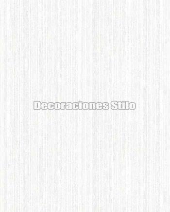 EX674C110 - Papel Pintado Vinílico Blanco, Roto y Pateado de Rayado